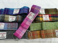 Harris Tweed Martingale greyhound dog collar FREE POSTAGE