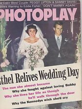 AUG 1969 PHOTOPLAY vintage -- movie magazine --- ETHEL KENNEDY