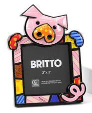 ROMERO BRITTO PICTURE FRAME - PIG    ** NEW **