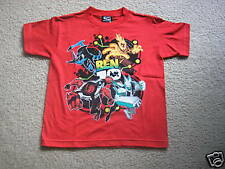 New With Tag Ben 10 Red Ben 10 T - Shirt Large L