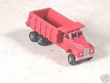N Scale 1955 B Model Mack Red Dump Truck, version #11