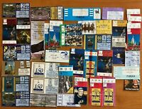 Notre Dame Football Vintage ND Ticket Stub Lot 1987-2003 Alabama, USC, Michigan