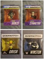 Blizzard Overwatch Cute But Deadly Lot - Winston, Orisa, Demon Hanzo, Symmetra
