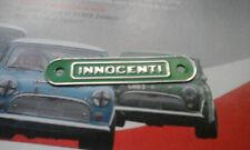 Classic Mini Innocenti Cooper 1300 S Works rare NOS Moteur Rocker Cover Plate GT