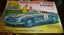 VINTAGE LINDBERG MERCEDES 300SL MODEL CAR MOUNTAIN KIT FS 610-29 1/32