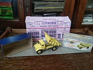 dinky toy n° 965 euclid rear dump truck dans sa boite d'origine parfait etat