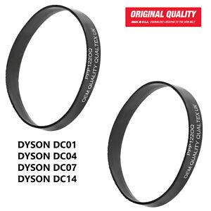 2 x Premium Quality Vacuum Cleaner Drive Belts For Dyson DC01 DC04 DC07 DC14