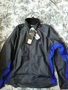Ronhill men's elite windlite jacket charcoal/blue medium
