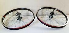 "2003 Redline Proline Pro 20"" wheels 36H Sun ZK25 high flange hubs mid school BMX"