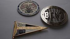 Mercedes 190 SL W121 classic Grill badge SET of 3 emblem badges -