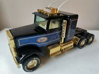 RARE VINTAGE NYLINT PRESSED STEEL HAULAGE TOY TRUCK LORRY BANDAG MADE IN USA 70S