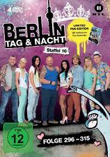 4 DVDs * BERLIN - TAG & NACHT - STAFFEL 16 (LIM. FAN EDITION) # NEU OVP &