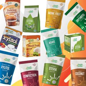 Health Garden Range - Xylitol, Stevia, Erythritol, Monk Fruit, Agave Sweetener