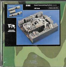 1/35 Verlinden Products #2102  Ceramic Trench Panzerstellung Sections  NIB