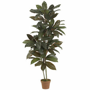 Cordyline Silk Plant Real Touch Realistic Nearly Natural 5' Home Garden Decor