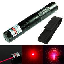 High Power 1mw Adjustable Focus Zoom Laser Pointer Pen 650nm Burning & Star Cap