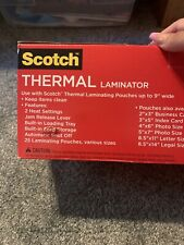 Scotch Thermal Laminator Machine (pouches Not Included)