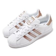 adidas Originals Superstar W White Copper Metalic Rose Gold Women Shoes EE7399