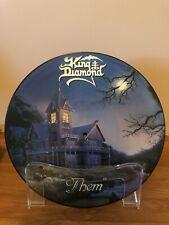 King Diamond THEM Picture Disc LP, 1988 Roadrunner, Original 1st Pressing UK