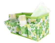 1PC Home Foldable Bright Stationary Bamboo Fibre Makeup Storage Box Bag GN YT8