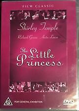 The Little Princess DVD 1939 Shirley Temple G rated Classic Film