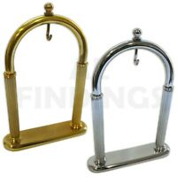 Pocket Watch Stand Arched Holder Display Gold Silver Tool