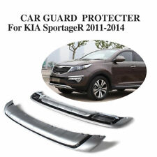 Chrome Protecter Plate Front Rear Bumper Spoiler Flap Fit For Kia Sportage 11-14