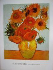 Sunflowers Van Gogh POSTER (60x81cm) NEW Print Art