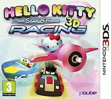 HELLO KITTY AND SANRIO FRIENDS 3D RACING NINTENDO 3DS 2DS