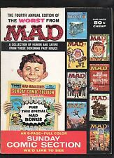 THE WORST FROM MAD  #4 F/VF  (INCLUDES MAD SUNDAY COMIC SECTION)  EC