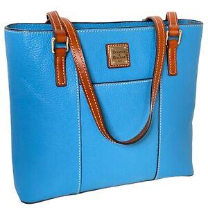 Dooney & Bourke - Pebble Grain Small Lexington Shopper Tote - Royal Blue