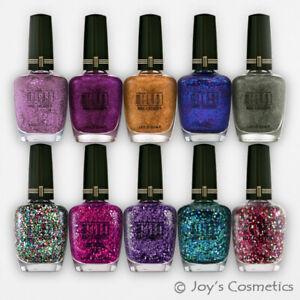 "1 MILANI Nail Polish Glitter Lacquer - MSN ""Pick Your 1 Color"" *Joy's cosmetics*"