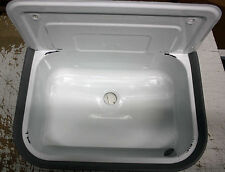 Waschbecken B-Ware für draußen, Garten, Keller, Waschküche, weiß Ausgussbecken