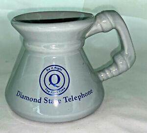 Vintage DIAMOND STATE TELEPHONE Coffee Cup Mug