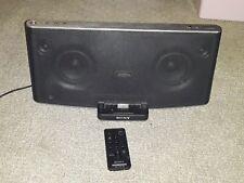 Sony RDP-X200iP Wireless Bluetooth Speaker Dock System iPhone iPod iPad Remote