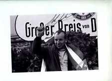 John Surtees Ferrari 158 ganador alemán Grand Prix 1964 Firmado fotografía 1