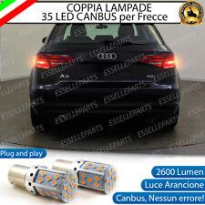 COPPIA LAMPADE PY21W BAU15S CANBUS 35 LED AUDI A3 8V FRECCE POSTERIORI