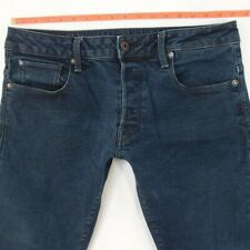 Mens G-Star 3301 SLIM Stretch Slim Leg Blue Jeans W33 L30