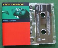 Randy Crawford Naked and True inc Give Me The Night + Cassette Tape - TESTED