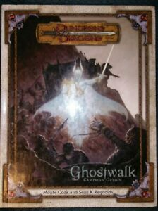 Ghostwalk Dungeons and Dragons 3.5 Tabletop Supplement Book