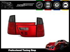 SET FEUX ARRIERE ENSEMBLE LED VT312 BMW X5 E53 1999-2003 ROUGE NOIR
