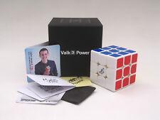QiYi The Valk3 power 3x3x3 Speed Magic Cube High-end Twist Puzzle Toys White