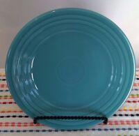 Fiestaware Turquoise Lunch Plate Fiesta Blue 9 inch Luncheon Plate