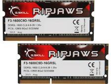G.SKILL Ripjaws Series 16GB 204-Pin DDR3 SO-DIMM DDR3L 1600 Laptop Memory