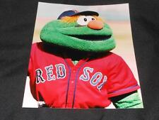 Vintage Photo File Boston Red Sox Wally the Green Monster 8x10 Color Photo 614