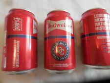 2019 Washington Nationals World Series  Budweiser MLB 12oz Baseball Beer Can