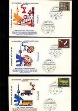 Internationale Verkehrsausstellung München 1965 FDC mit Erstausgabestempeln Bonn