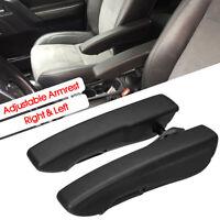Pair Car Adjustable Seat Armrest Centre Console Trailer Boat Motorhome
