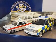 CORGI VANGUARDS CHESHIRE CONSTABULARY 150 YEARS POLICE CAR MODEL SET CP2002 1:43