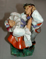 Vintage Continental Pottery Figure Of Dancers